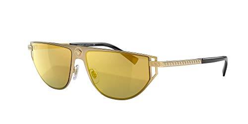 Versace 0VE2213 Gafas de sol, Gold, 57 para Hombre