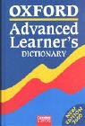 Oxford Advanced Learner's Dictionary (6. A.) of Current English. Deutsche Ausgabe