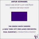 Schnabel : Dance and Secret & Joy and Peace/Solo Sonata