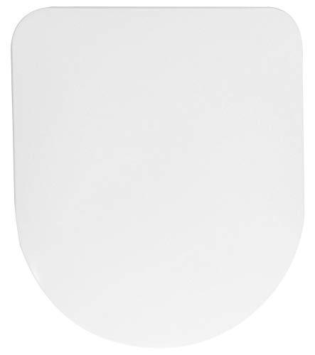 Sanilo WC Sitz mit Absenkautomatik Super Flat Carbon I Hochwertiger Toilettensitz mit Carbon Scharnieren I Toilettendeckel mit patentierten Anti-Rutsch-Ring