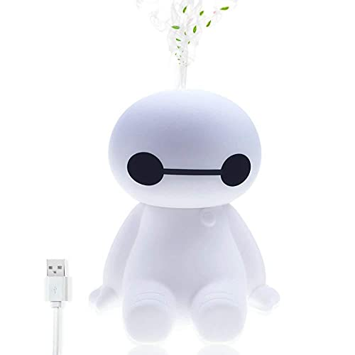 Humidificador Humidificador de niebla fresca - Difusores de purificadores de aire con apagado automáticamente sin agua, alimentado por USB y un disfutor portátil silencioso para bebés, automóvil, ofic