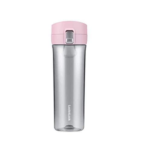 ZJH Bottiglia d'Acqua 17 oz Grande capacità Bottiglia d'Acqua all'aperto Sport Fitness Tazza di Acqua Portatile Semplice Tazza di tè di plastica Semplice/Unisex Borraccia Sportiva (Color : Pink)