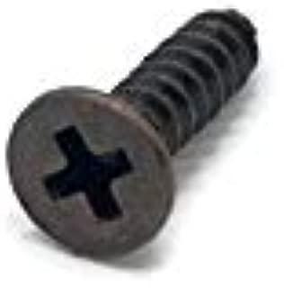 XFentech M4x10mm Full Thread Hex Bolts 304 Stainless Steel Flat Head External Hex Drive Screws 40 Pcs