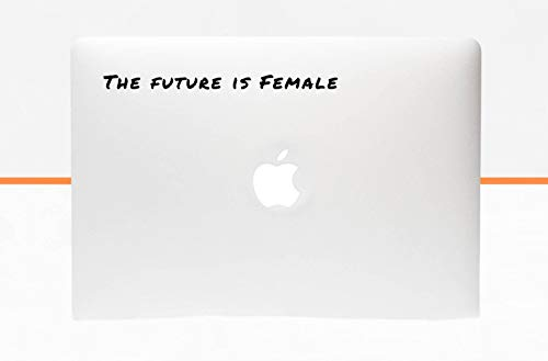 DKISEE Stickers The Future is Female MacBook Notebook Laptop Tablet Aufkleber Skin Decal Sticker Vinyl Decal for Car, Laptop, Tumbler, Water Bottle, Vinyl Decal, Window, Teacher Gift 5 inches