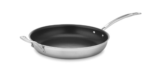 Cuisinart MultiClad Pro Nonstick Stainless Steel 12-Inch Skillet