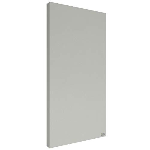 Schallabsorber Premium 100x50x6 cm by Addictive Sound – Akustikplatten Akustikbild – Viele Farben - 15.Silber