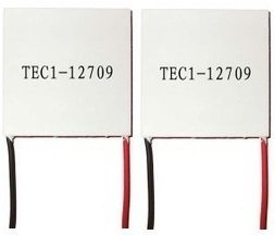 2 pcs TEC1-12709 Thermoelectric Peltier Cooler 12V 90W 138Wmax