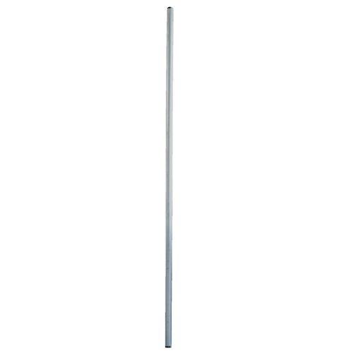 PremiumX Antennenmast 2m Stahl Ø 60mm SAT Mast mit Schutzkappe Satellitenmast Mastrohr Stangenrohr