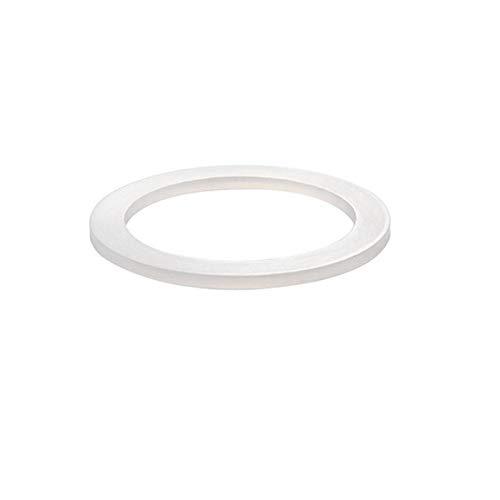 2 anillos espaciadores de silicona para cafetera, accesorios para hacer café y café de repuesto para macetero de mocha.
