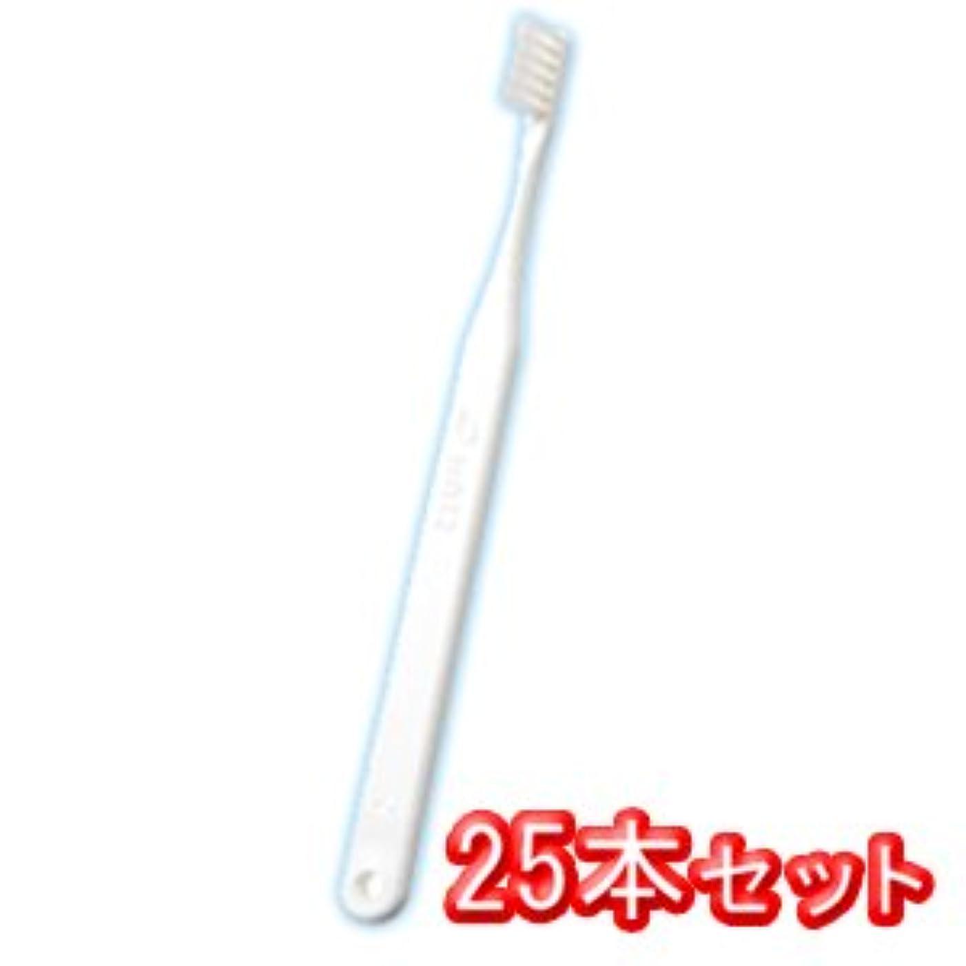 通行料金議会寛大さオーラルケア タフト12 歯ブラシ 25本入 スーパーソフト SS ホワイト