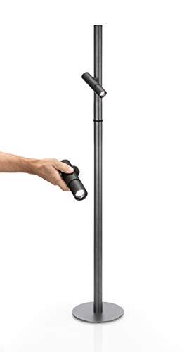 PAUL BASIC Grill Licht, Grilllampe BBQ magnetisch, Grill Zubehör BBQ, 360 Grad Batteriebetrieben, Akku, Stehlampe oder Tischlampe für Wohnzimmer, Outdoor, Grill ohne Batterie u.v.m.
