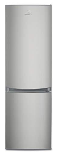 Electrolux EN3350POX Frigorifero Combinato, 311 Litri, Grigio Inox