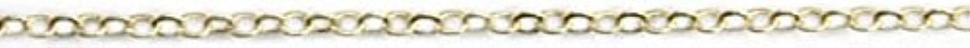 腐ったルーフ上へプリティーネイル ネイルアートパーツ ツイストチェーンSS ゴールド 1m 1個