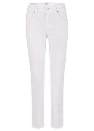 Angels Damen Jeans Cici Regular Fit Weiss (10) 36/30