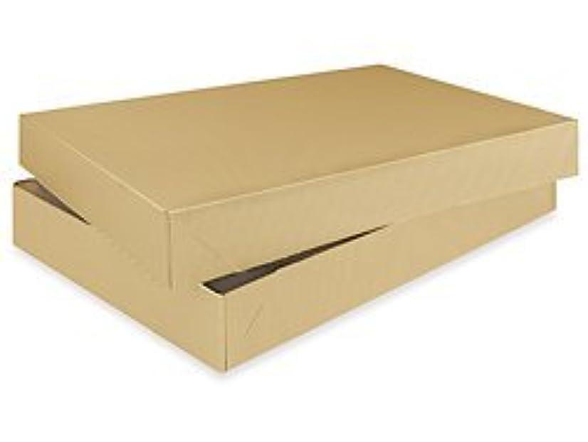 Bundleofbeauty R129l - 5pack Mens Shirt Kraft Brown Gift Wrap Packaging Box