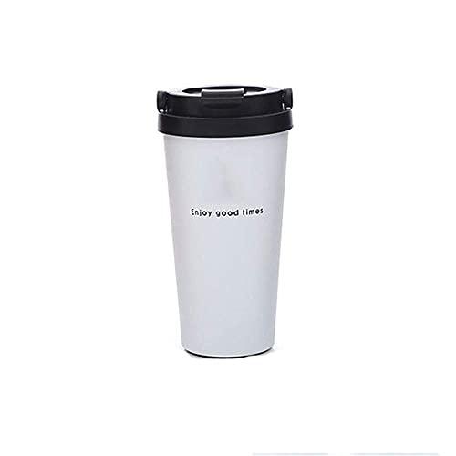 N&G Accesorios para Sala de Estar Juegos de Tazas y platillos Tazas de café de Acero Inoxidable de Grado alimenticio de Doble Pared Tazas Botella de Agua con Aislamiento al vacío Vaso de Viaje Taza y