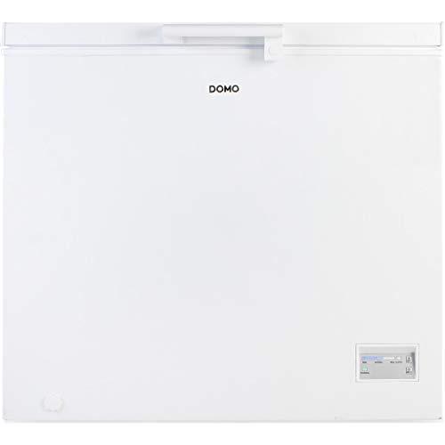 Domo DO935DVK Coffre 200L A++ Blanc – Congélateur (Baoul, 200 L, 42 dB, 4*, A++, Blanc)