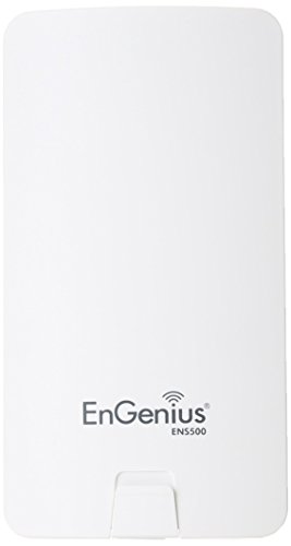 Engenius ENS500 - Punto de Acceso inalámbrico (5 GHz, 300 MB/s, 400 MW), Blanco
