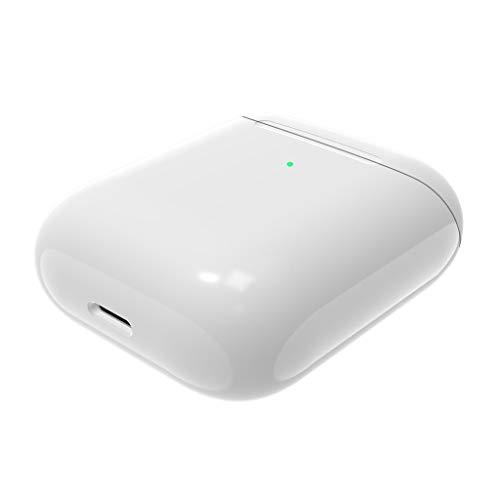 DIPOLA Reemplazo de la Caja de la Caja de la Cubierta del Cargador de Carga de Air Pods para Apple Airpods-Blanco