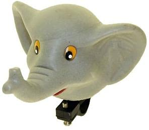 P4B   Elefant Hupe für Kinderfahrräder   Für Kinder   Mit Schelle   Kinder Fahrrad Hupe