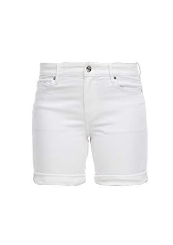 s.Oliver 04.899.72.7182 Hose Kurz Pantalones Cortos de Jean  Blanco  36 para Mujer