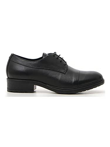 scarpe pittarello PITTARELLO Scarpe Stringate Donna Nero in Pelle