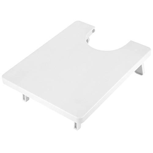 Mesa de máquina de coser, práctica mesa de manualidades flexible plegable patas diseño con tabla de extensión para el hogar para máquina de coser para personas