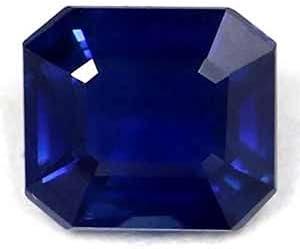 New popularity GemsNY 0.90 Carat Natural Elegant Blue Emerald Cut Sapphire