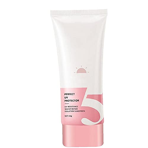 YepYes Blanqueamiento de Protector Solar SPF50 + PROTECCIÓN DE CUERPA Y CUERPA PROTECCIÓN Sun PLAONA DE PERSHEEN ANTERIORES Pink Pink