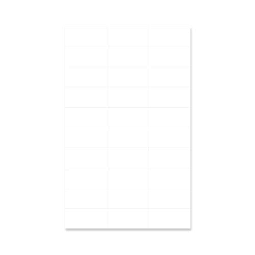 PDC Healthcare LSL130 Chart Labels Laser, Portrait 2-27/32
