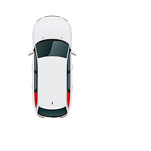 Para Mazda CX-5 CX-4 CX4 CX5 Mazda 3 5 6 ATENZA ALEXA 2011-2015 2016 2017 2018 Parasol magnético para ventana de coche, puerta de coche, parasol antipeeping (color 2 triángulos)