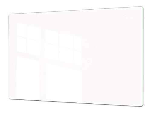 Concept Crystal Molto Grande ASSE da Cucina in Vetro temperato – Enorme Tagliere in Vetro - Pezzo Unico (80x52cm) o Due Pezzi (40x52cm ognuno) Serie di Colori DD22A