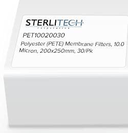 PET10020030 - Sterlitech 200 x 10.0 PET Ranking TOP8 250mm gift Micron Polyester