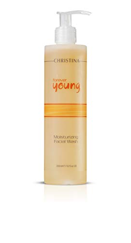 Forever Young Moisturizing Facial Wash - Botanical-based Cleanser for Normal, Oily & Combination skin, (10 fl oz)