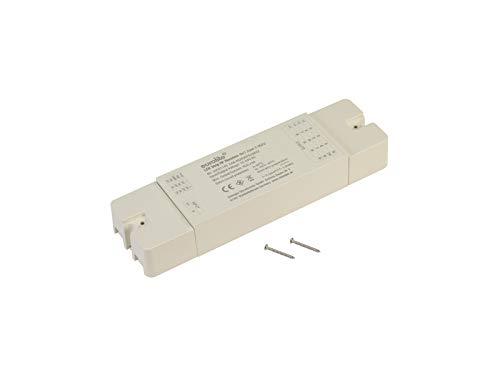 EUROLITE LED Strip 4in1 Zone RF ontvanger   Uitbreidingscontroller met 4 x 6A voor RGB/W en dual wit