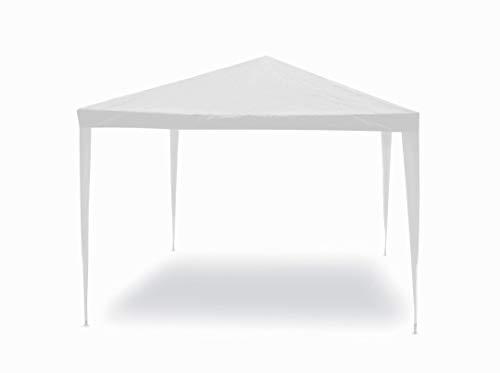 Gazebo facile bianco 3x2 m Struttura in acciaio copertura in pe. 110 gr/m².