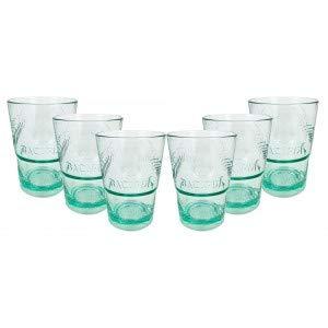 Bacardi Rum Glas Gläser Set - 6X Gläser Mojito Longdrinkglas Cuba Libre Cocktail Bar
