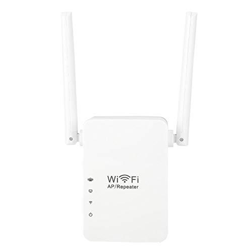 Repetidor inalámbrico multifuncional, 300Mbps Amplificador de señal wifi con Botón WPS,Amplificador de...