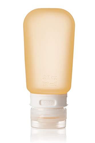 Humangear Go Toob Liquid Reise Flaschen, Orange, 60 ml