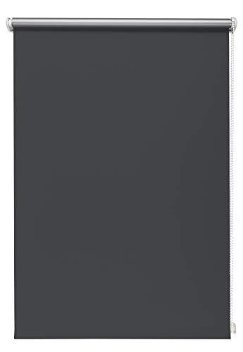 Thermo-Rollo Graphite 70x210 cm ohne Bohren Verdunkelungsrollo Seitenzugrollo Klemmrollo Blackout Silberbeschichtung
