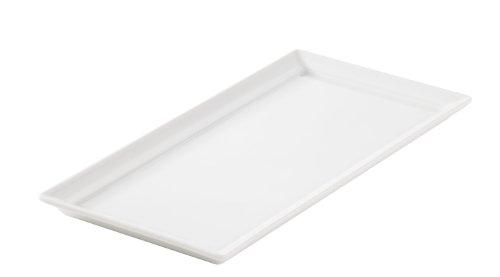 Revol 617458 Plateau Rectangulaire Porcelaine Blanc 26,3 x 13 x 1,5 cm