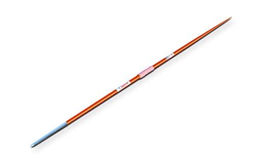 Polanik Wettkampfspeer Space Master 13 - aus Aluminium - Zigarrenspitze - 700 g - Orange - Speerwurf