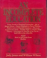 Paperback An Incomplete Education Book