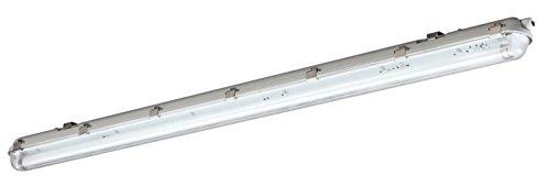 LED plafondlamp IP65, 1800lm, 4000K, 126cm, 18W, neutraal wit
