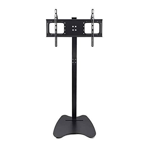 Soporte para computadora portátil soportes para TV soportes y tocadiscos Soporte universal para TV Soporte para TV soporte para TV de pie ajustable en altura y gestión de cables VESA 600x400 mm
