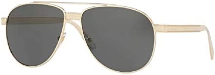 Versace VE2209 125287 58M Pale Gold Grey Phantos Sunglasses For Men FREE Complimentary Eyewear product image