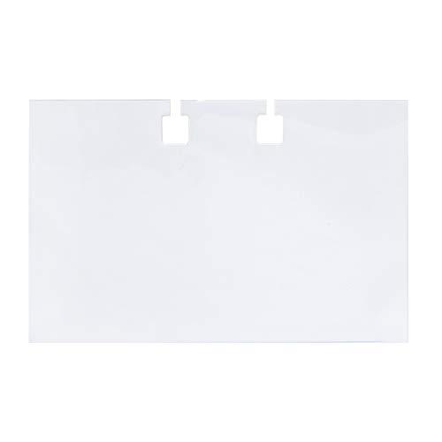 kyome Schutzhüllen für Rotationskartei, Für 100 Visitenkarten, 50 Stück, 744546