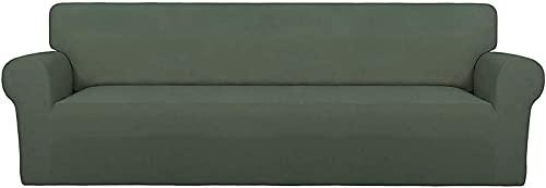 JJDSN Homee Juego de sofá de Silla súper elástica, Juego de sofá Suave de Patinaje de Spandex, Estuche para Muebles limpiable con Espuma Antideslizante y Fondo elástico, Adecuado para niños, masco