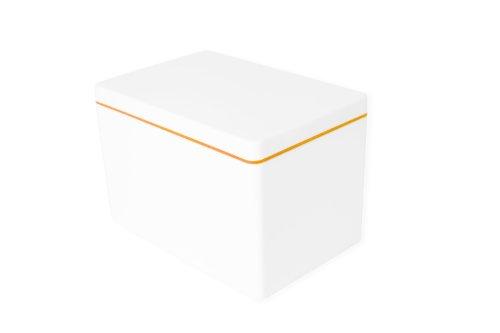 ajaa! Aufbewahrungsbox aus nachhaltigem Biokunststoff - 2,1 Liter - mandarin
