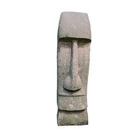 """Figura de piedra natural """"Pöwhiri"""" para el jardín."""